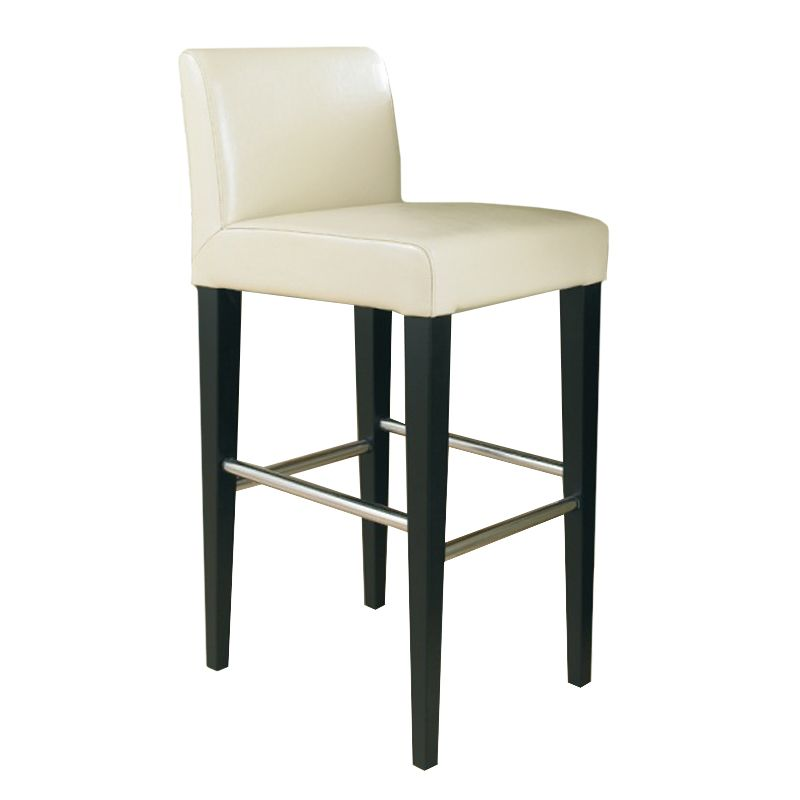 This low back contemporary counter stool features sleek metal ...