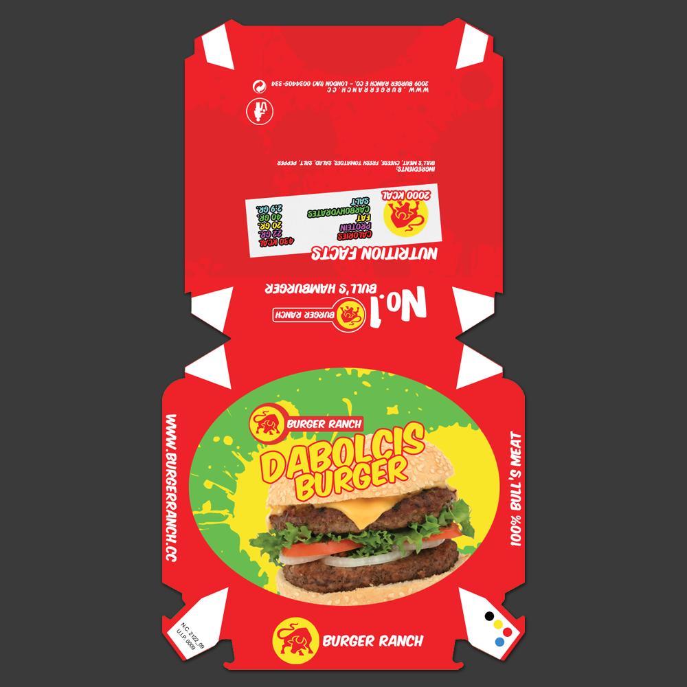 Mcdonalds Hamburger Box Dolly Printables Png 1000x1000 Svg