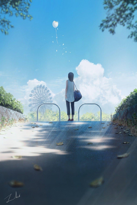 Z おしゃれまとめの人気アイデア Pinterest Kai Bui 水彩風景 幻想的なイラスト アニメの風景