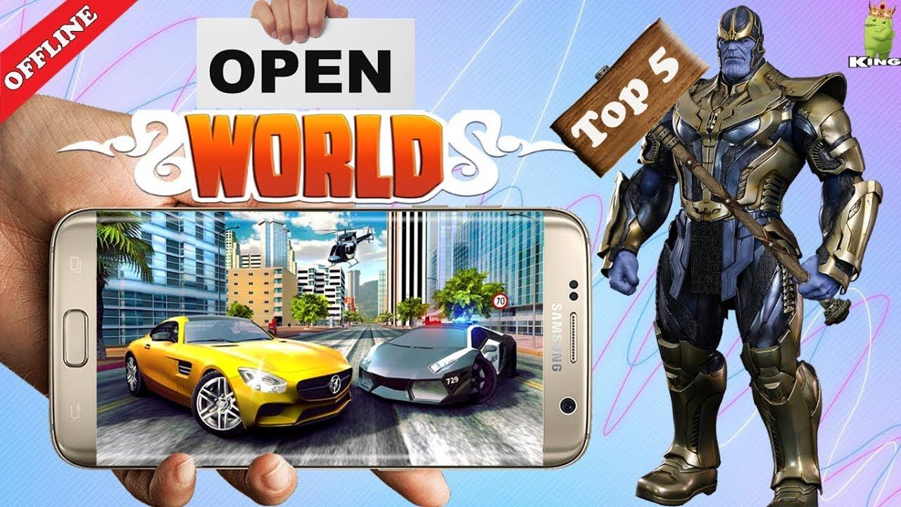 Top 5 Android offline open world games Hindi If you want