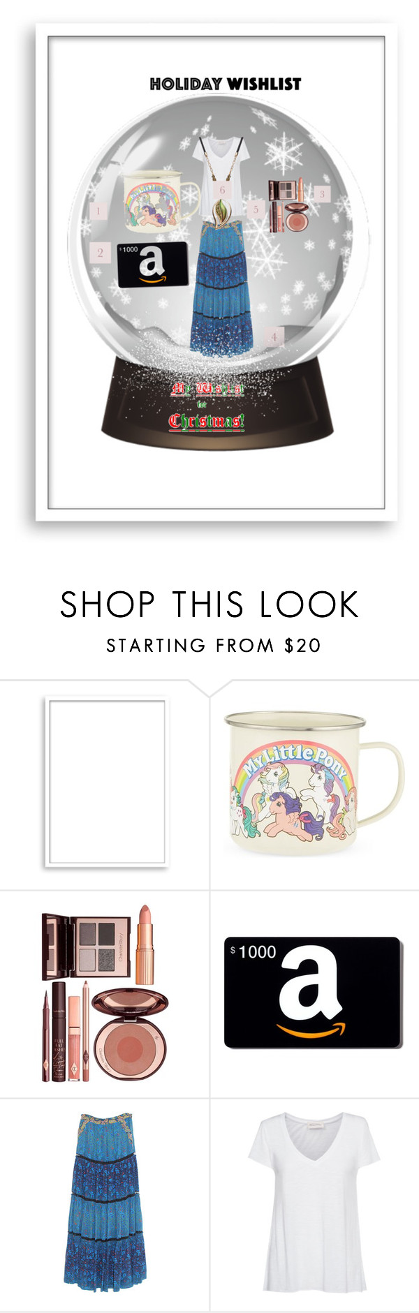 """What's on Your Wish List?"" by xdarkgothamx ❤ liked on Polyvore featuring Bomedo, Gift Republic, Charlotte Tilbury, Marchesa Voyage, American Vintage and Croft & Barrow"