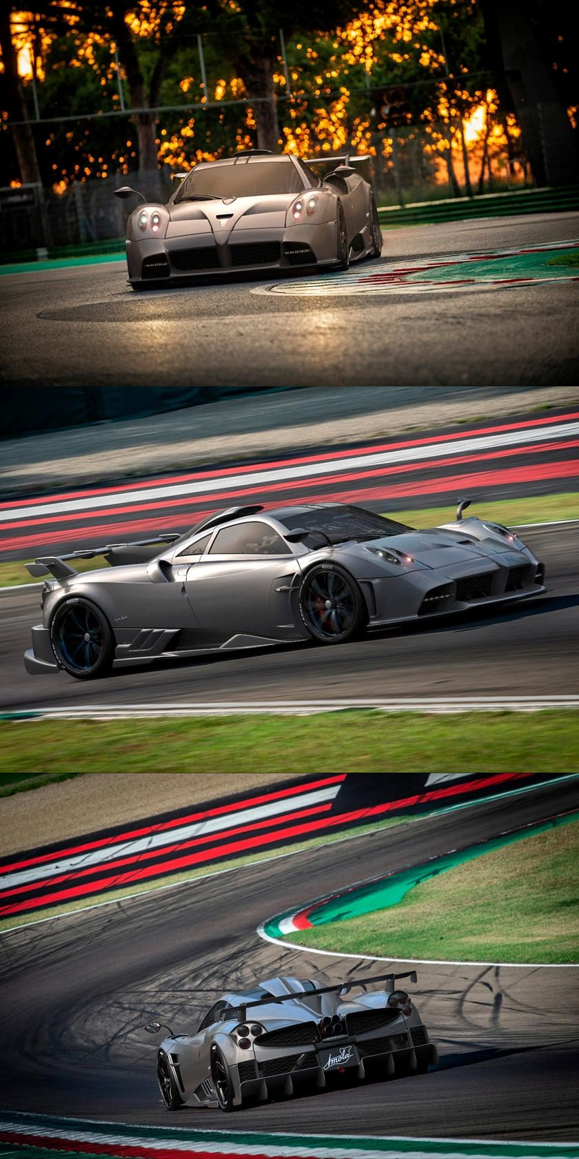 Pagani Imola Is A 5 5 Million Obsessively Engineered Hypercar The Pagani Imola Named For The Famous Italian Road Course Shows A N In 2020 Pagani Imola Super Cars