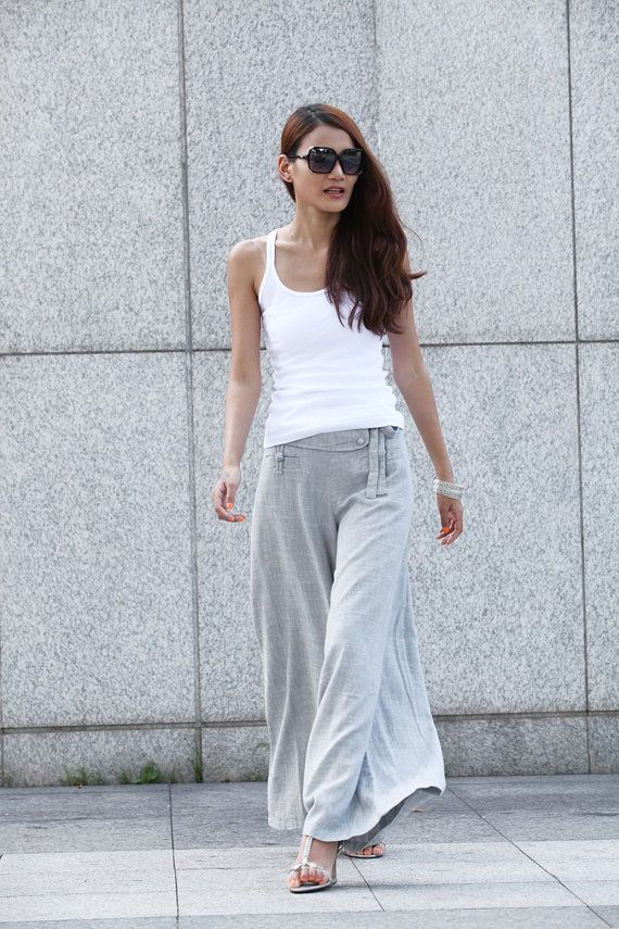 1000  images about Linen pants on Pinterest