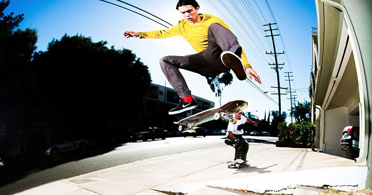 Trevor Colden Transworld Skateboarding Transworld Skateboarding Trevor Nature Tour
