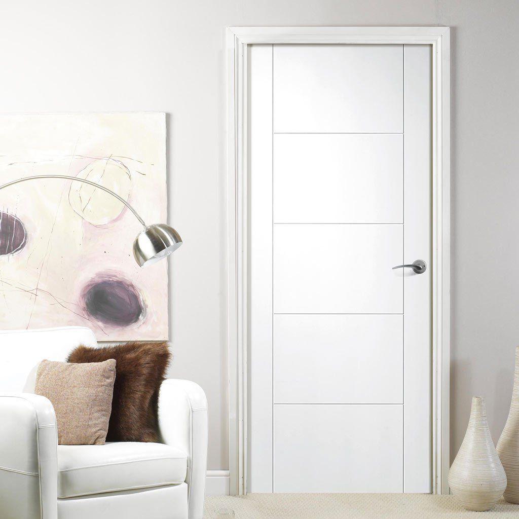 Florida White Primed Flush Door . #lpddoor #whitedoor #whitesimpledoor & Florida White Primed Flush Door | Flush doors Doors and ... pezcame.com