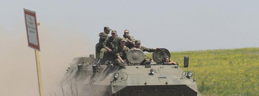 Russland und Ukraine: Die Panzer an der Grenze