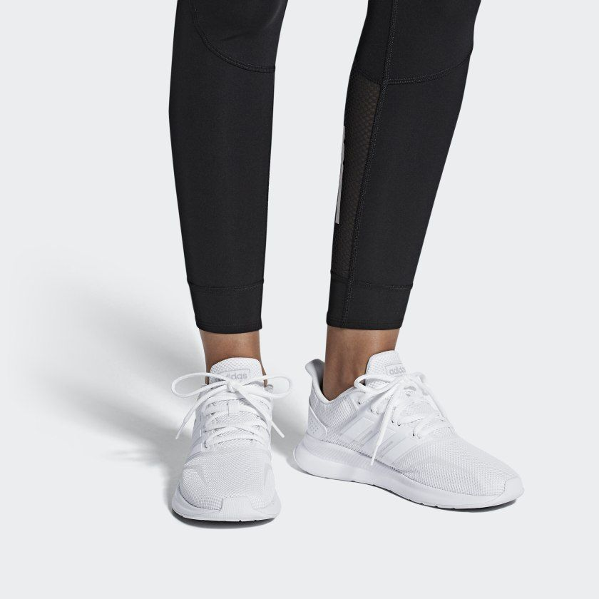 on cloud white sneakers