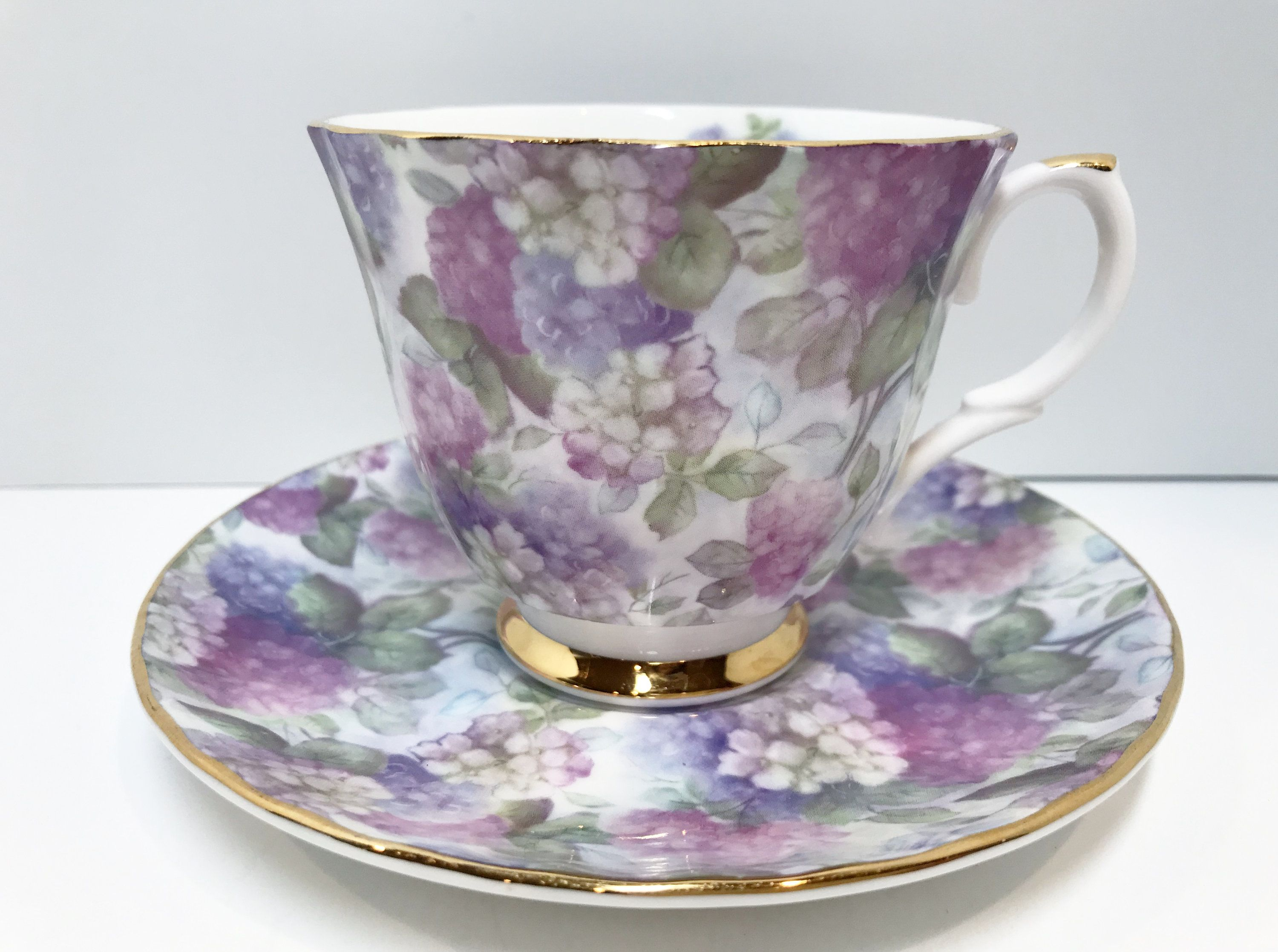 Lovely Lilac Royal Patrician Tea Cup and Saucer, English