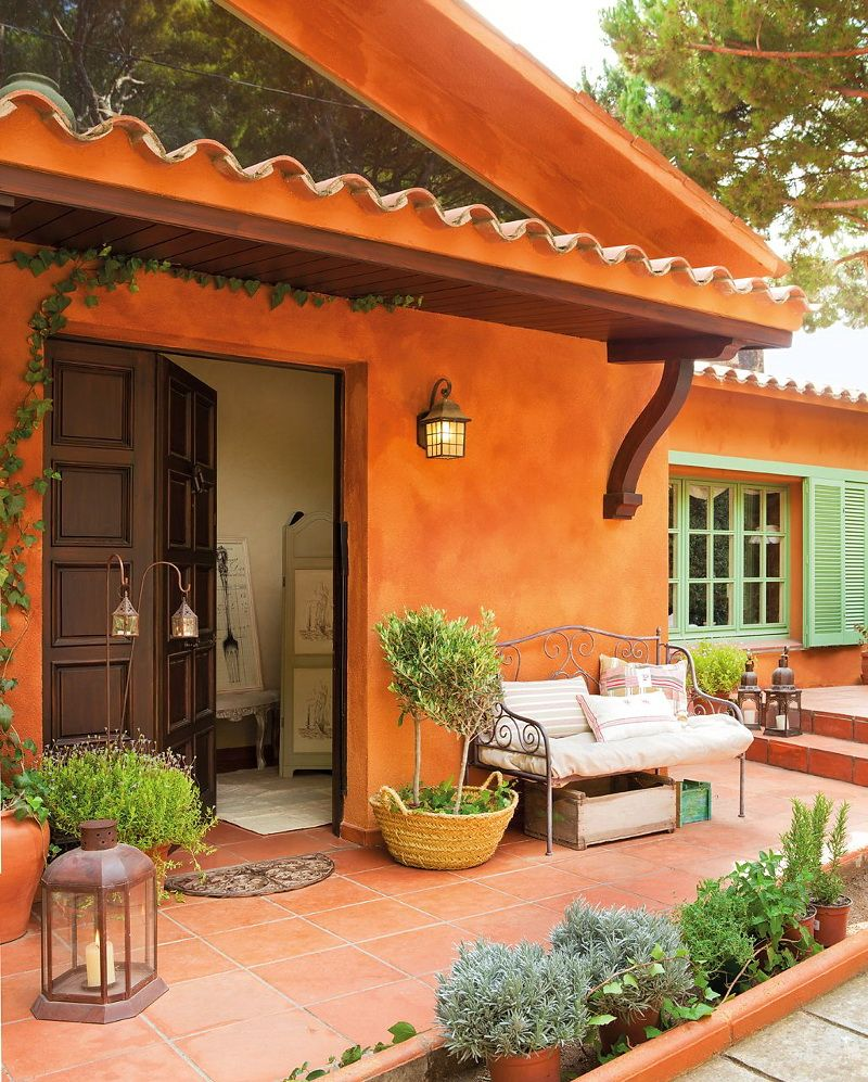 Decordemon: A Spanish House Inspired By Provence Style In