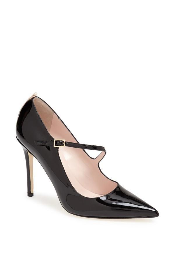Sara Jessica Parker black strap pumps | Pumps, Parker