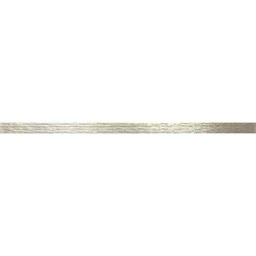 Somerset Collection Somerset Brushed Nickel Metal Border Tile Common 1 2 In X 12 In Actual 12 In X 0 46 In Lowes Com Somerset Collection Border Tiles Somerset