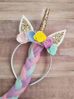 Child's Unicorn Headband | Unicorn Hair | Unicorn