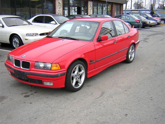 1994 Bmw 325i Bmw Red Bmw Bmw E36