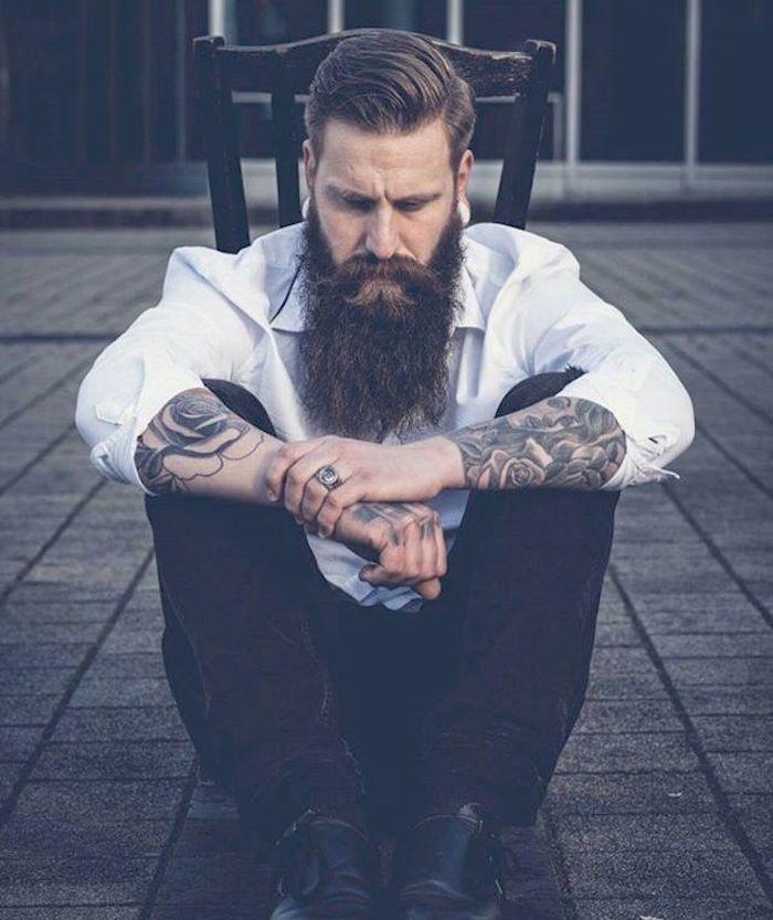 Barbe longue – des centimètres et des sentiments | Groom style