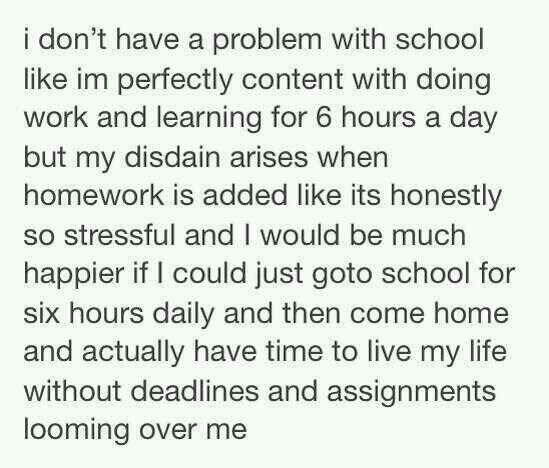 Exactly! | ➳ ∞ Quotes ➳ ∞ | Hate school, I hate school ...