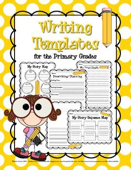 writing templates for the primary grades prewriting drafting