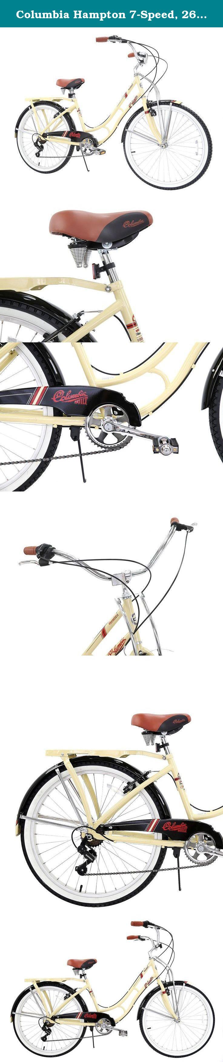 Hampton Beach Cruiser : hampton, beach, cruiser, Columbia, Hampton, 7-Speed,, 26-Inch, Women's, Retro, Bicycle., 7-Speed, Bicycle, Manufactu…, Bicycles,, Grip,, Cruiser