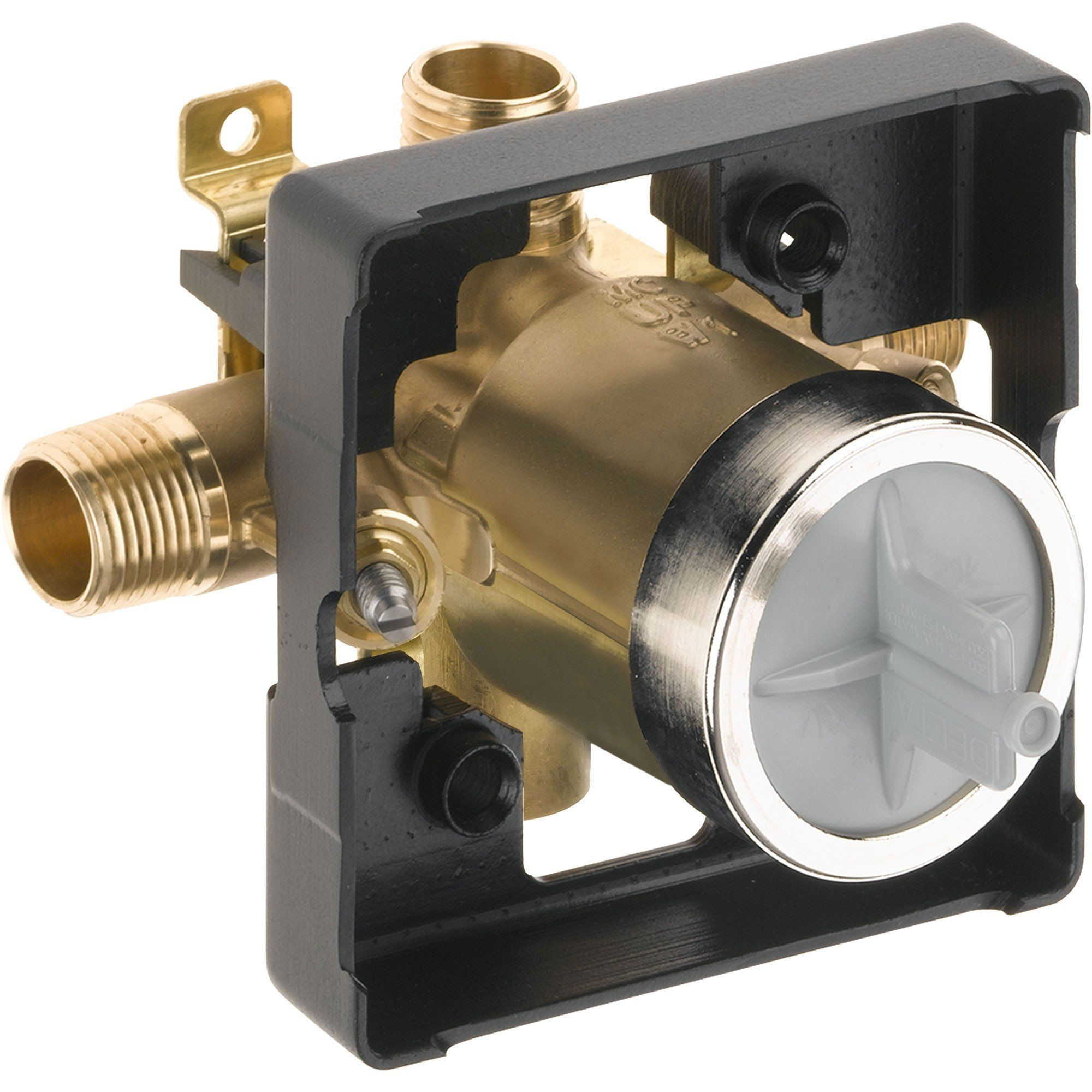 Delta Ashlyn 1 Handle Pressure Balance Shower Faucet Trim Kit In
