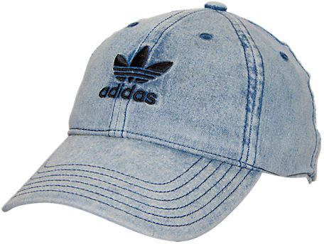a855c90bb9e adidas Women s Originals Precurved Washed Strapback Hat
