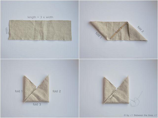 Triangle bag :: a tutorial
