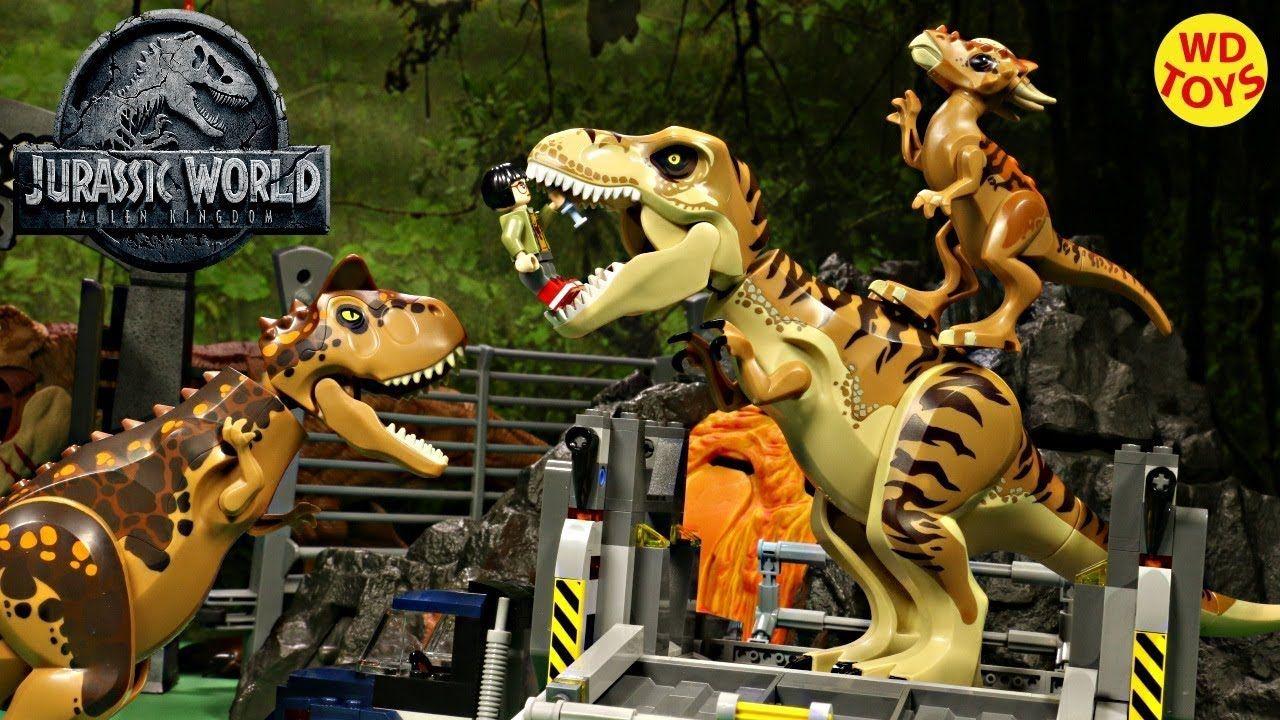 New Lego T Rex Transport 75933 Jurassic World Fallen Kingdom Unboxing Jurassic World Fallen Kingdom Falling Kingdoms Lego Jurassic World