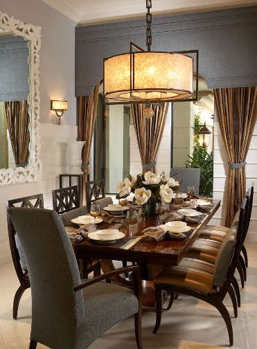 High End Interior Design Firm Decorators Unlimited Palm Beach Caribbean Lovely Dining
