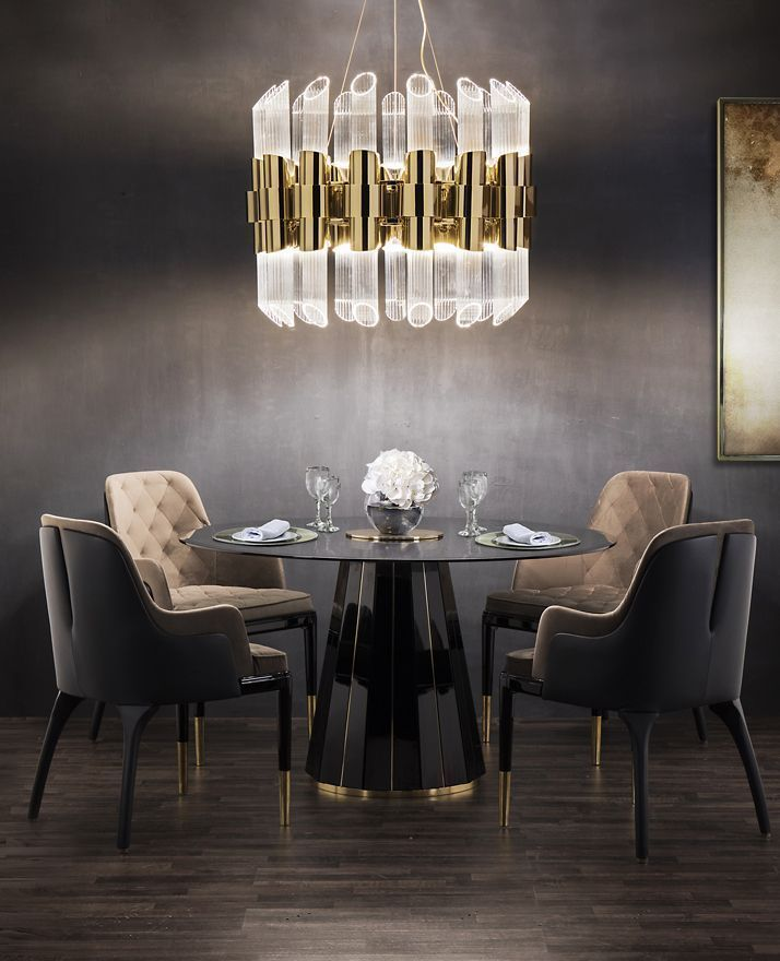 Dining Room Curtains To Create New Atmosphere In Perfect: 31 Dining Room Chandeliers That Will Make The Atmosphere