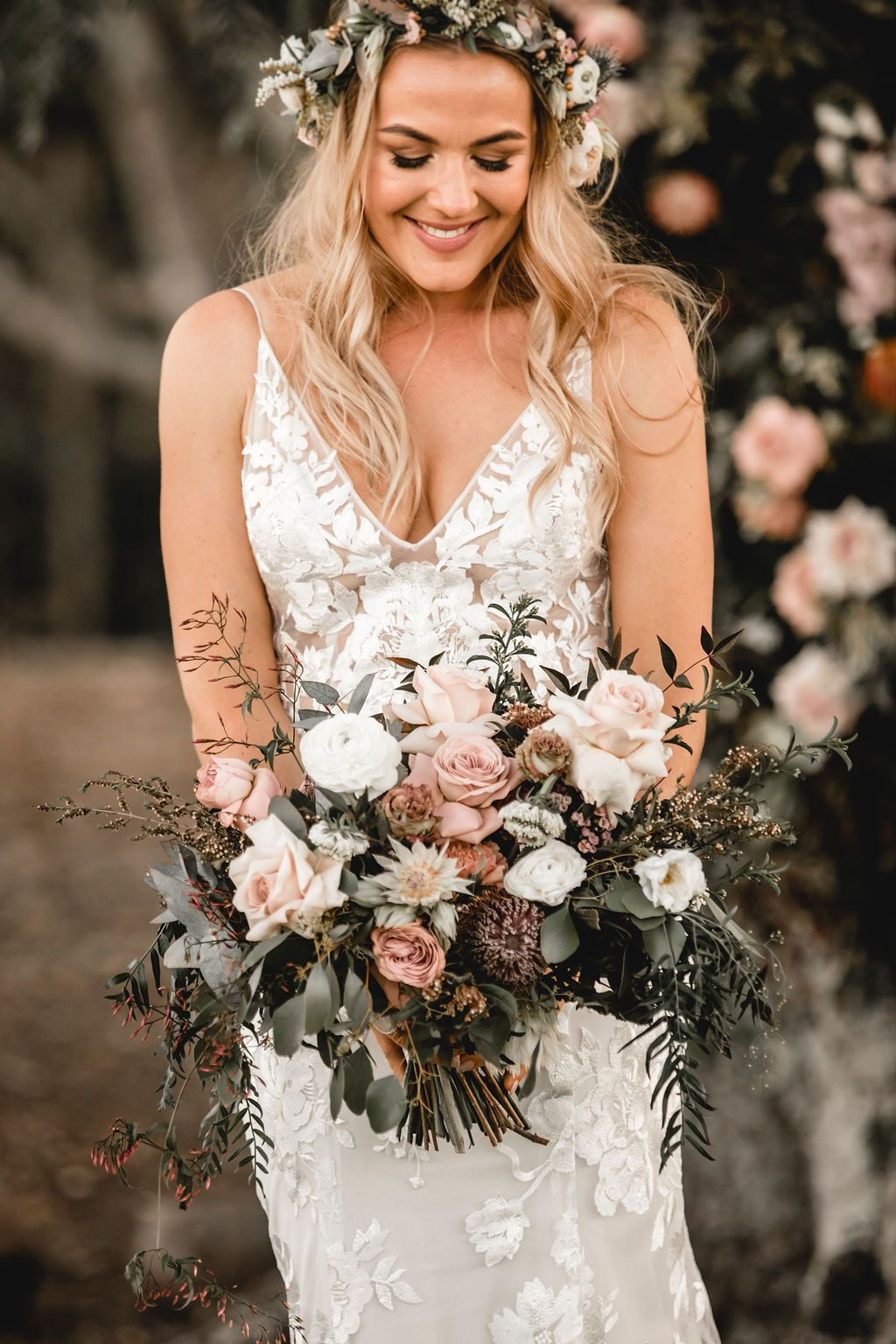 Amazing Australian Native Wedding Bouquets