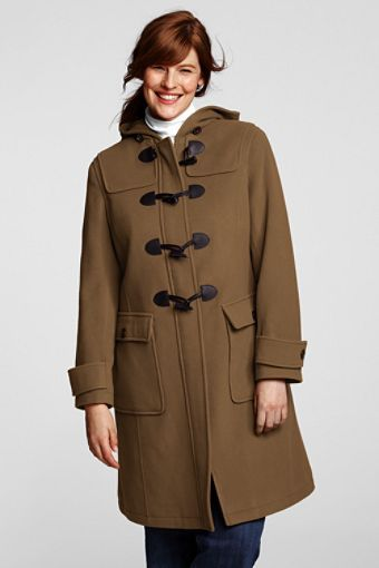 My favorite type of winter coat - I love hoods and toggles, plus it has sbig pockets!
