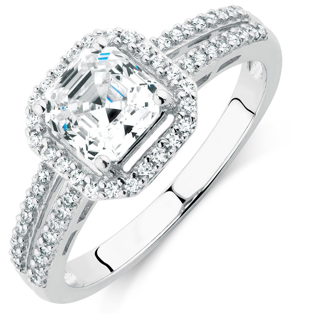 CUBIC ZIRCONIA RING 229. Micheal HIll Rings, Cubic