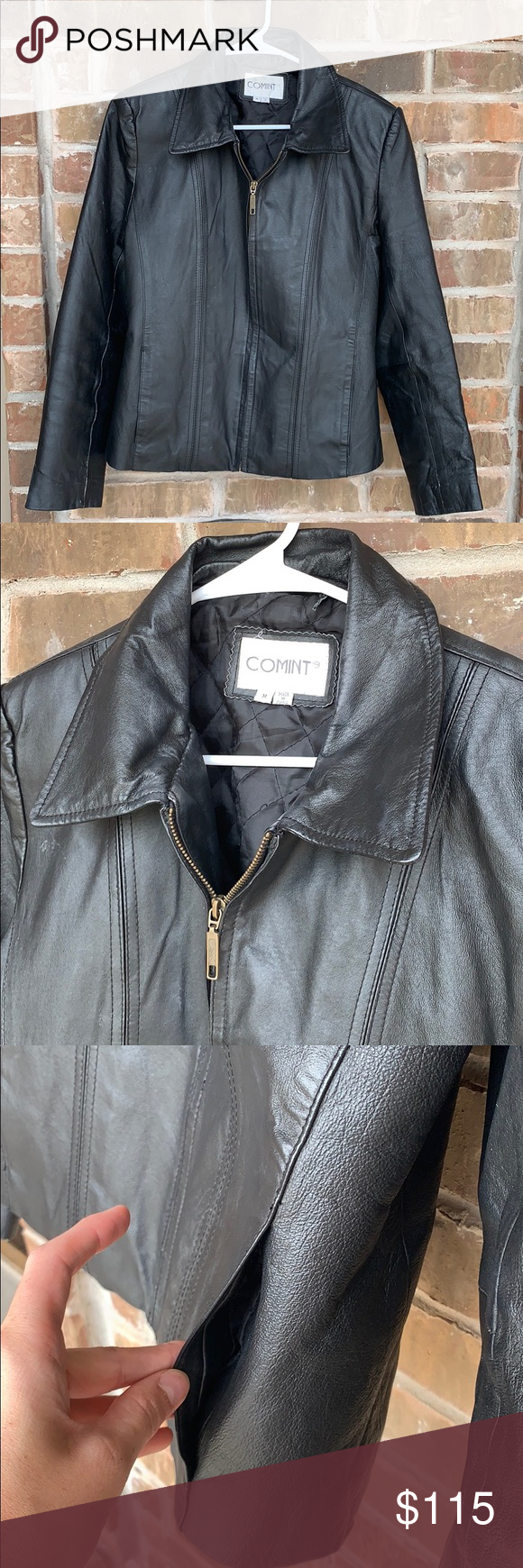 100 Genuine Leather Jacket Leather Women S Jacket In Great Shape This Jacket Is Absolutely Beautiful And Is Pe Genuine Leather Jackets Leather Jacket Jackets [ 1740 x 580 Pixel ]