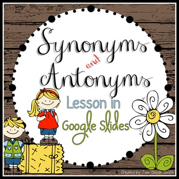 Synonyms and antonyms presentation in google slides students this google slides presentation is a great introduction or review for synonyms and antonyms students will learn how synonyms are different from antonyms m4hsunfo