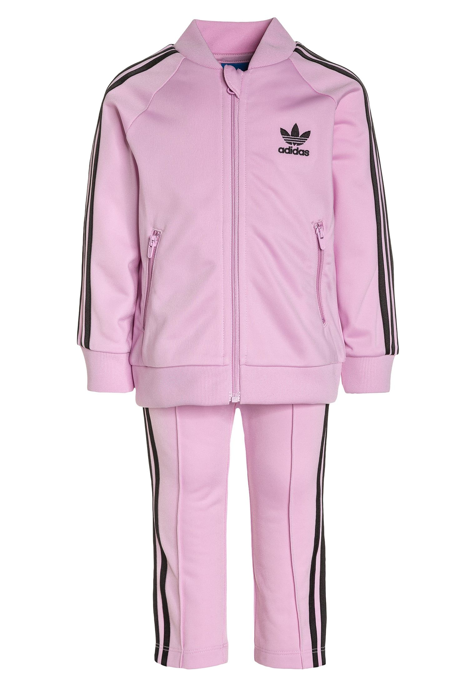 classic shoes the best attitude outlet adidas Originals SET - Trainingsjack - frost pink/black ...