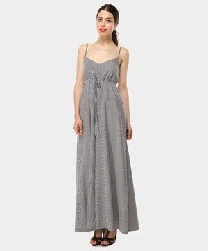 online retailer 7785d df9ae SANDRO FERRONE // Abito lungo a righe bianche e nere // oggi ...