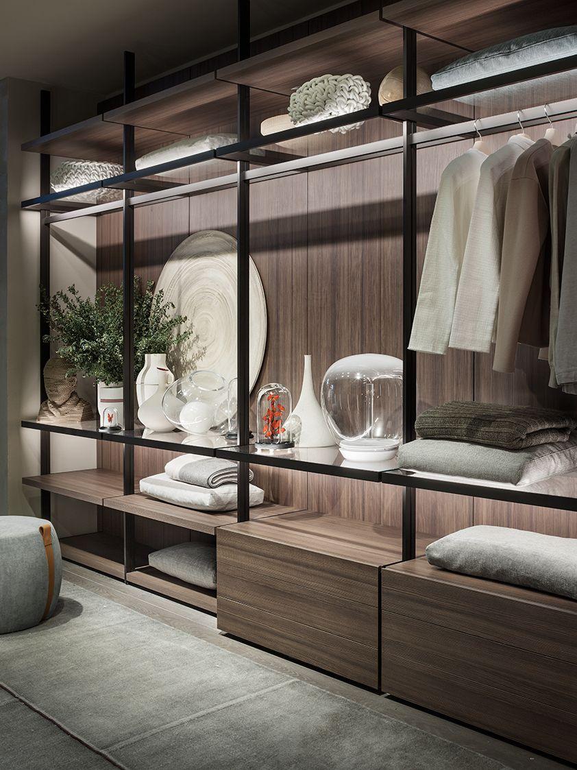 Lema - Hangar walk-in wardrobe