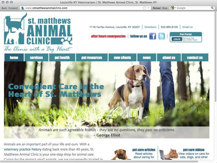 St Matthews Animal Clinic Www Stmatthewsanimalclinic Com Pet Clinic Clinic Veterinary Medicine