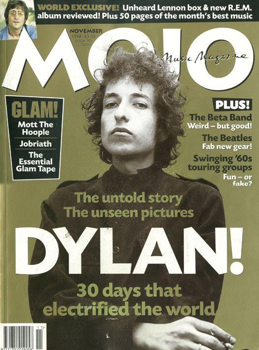 Mojo No.60 November 1998 - Bob Dylan