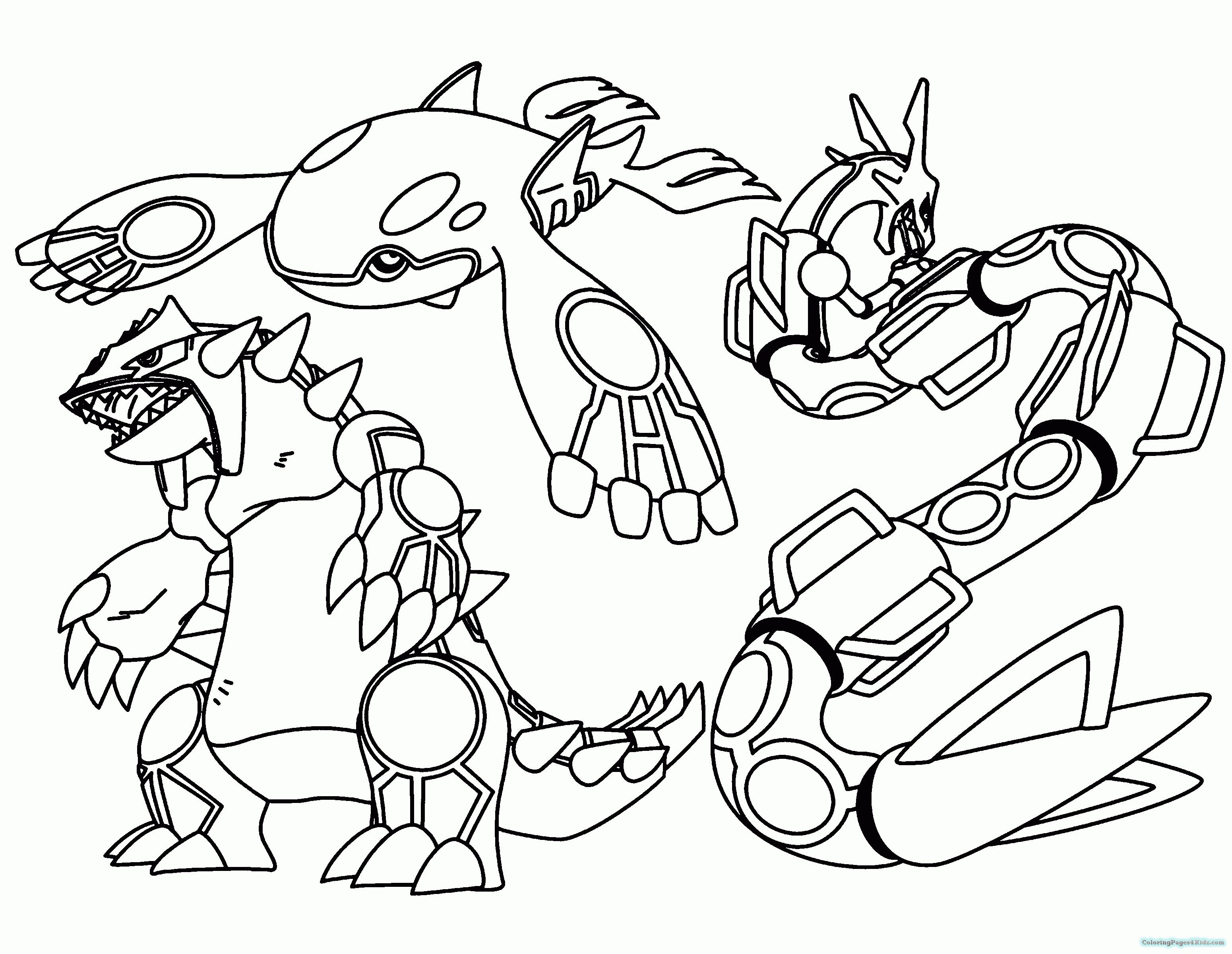 Legendary Pokemon Giratina Coloring Pages For Kids Inside