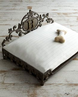 Neiman Marcus Fashion S Premier Designers Plus Beauty S Best Brands The Perfect Bed For Our Precious Walter Cat Pet Bed Personalized Pet Pet Beds