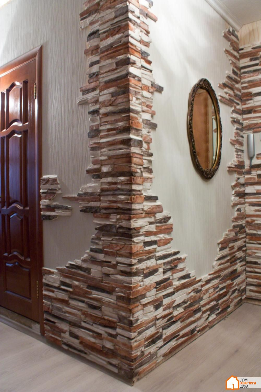 15 Artistic Stacked Stone Wall To Catch Your Attention With Images Brick Decor Stone Wall Design Wall Design