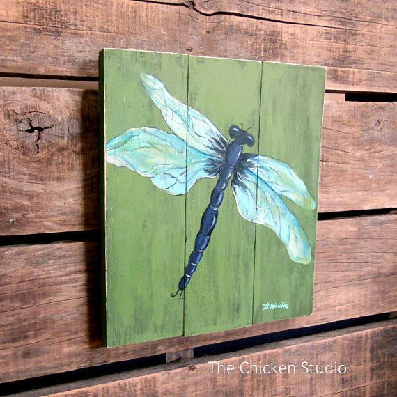 Dragonfly Art, Mother'S Day Gift, Garden Art, Porch Decor, Wall