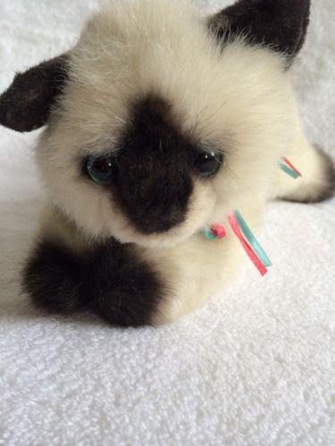 Gund Copy Cats Plush Siamese 1171 Cat Kitten Stuffed Animal Toy
