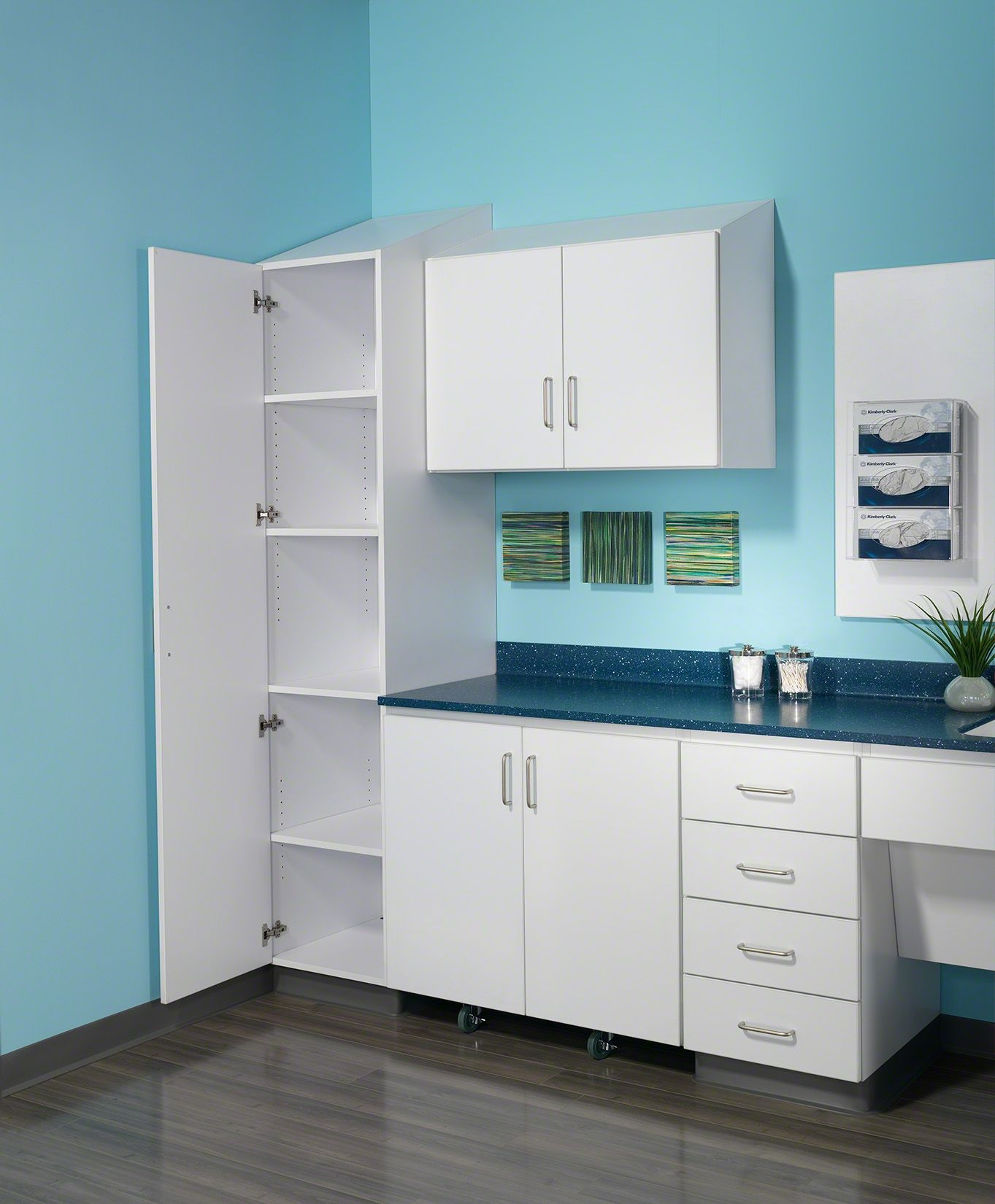 Healthcare cabinet storage | Folio by Nurture | Healthcare Spaces ...