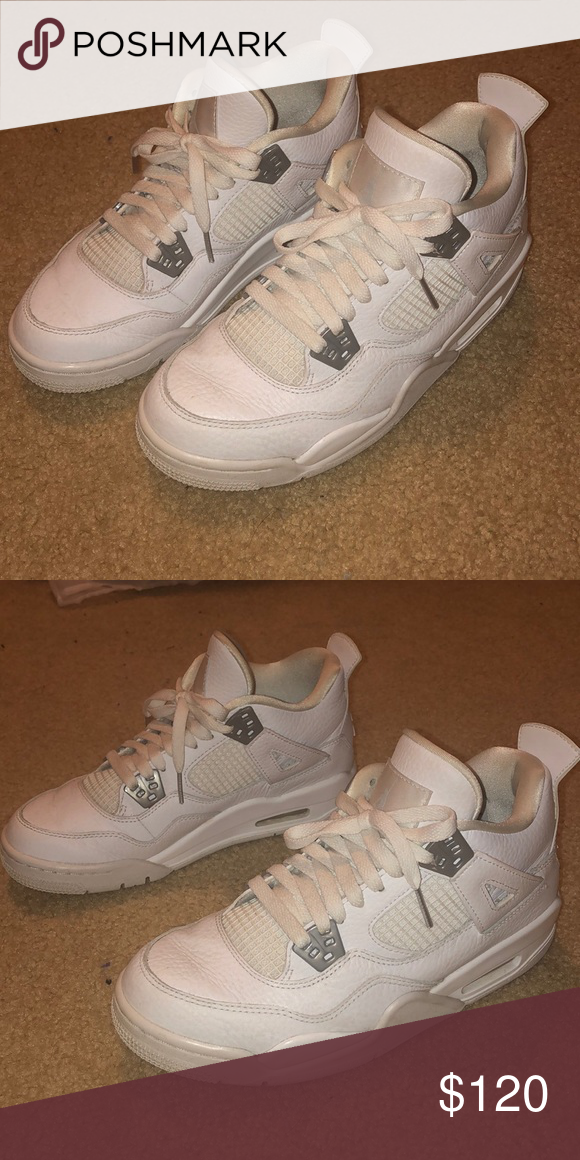1a020a35de3 Jordan 4 pure money Slightly worn with easily fixable creases in toe Size  women's 7.5 Clean