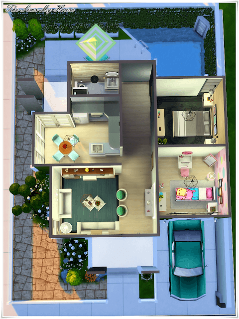 3d Plan Top View Amazing Ideas Engineering Discoveries Sims Freeplay Houses Sims House Design Sims 4 House Plans
