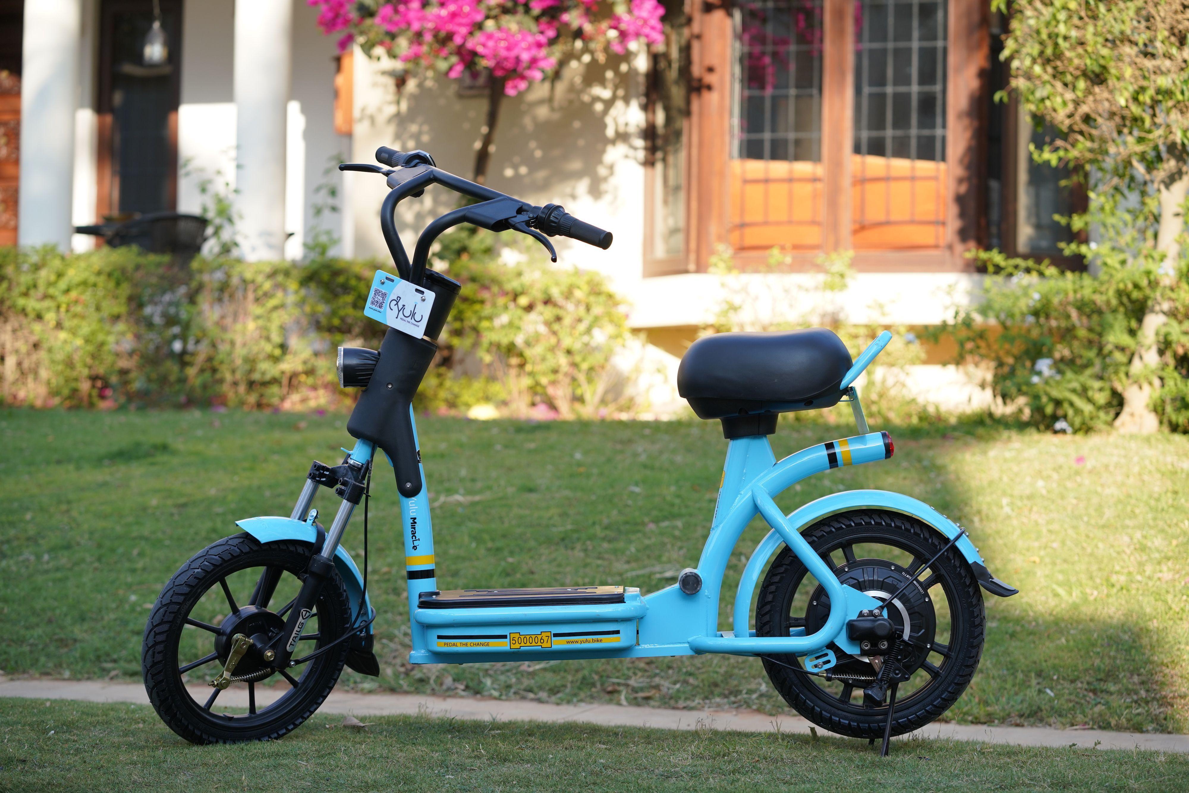 India S Electric Bike Rental Startup Yulu Inks Strategic Partnership With Bajaj Auto Raises 8m Bajaj Auto Electric Bike Bike Rental