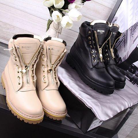 Balmain boots 2015