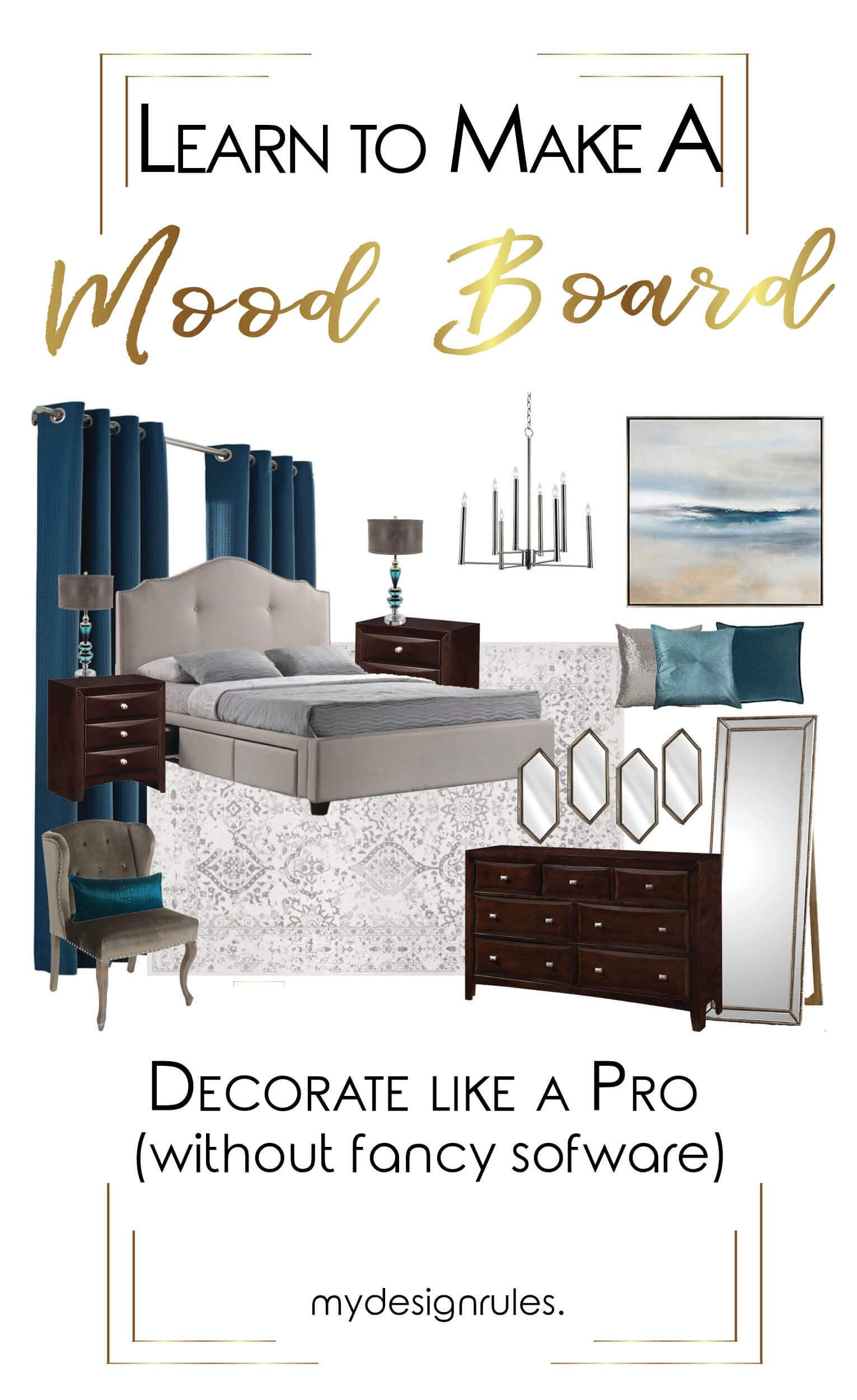 How To Create A Mood Board Decorate Like A Pro Interior Design