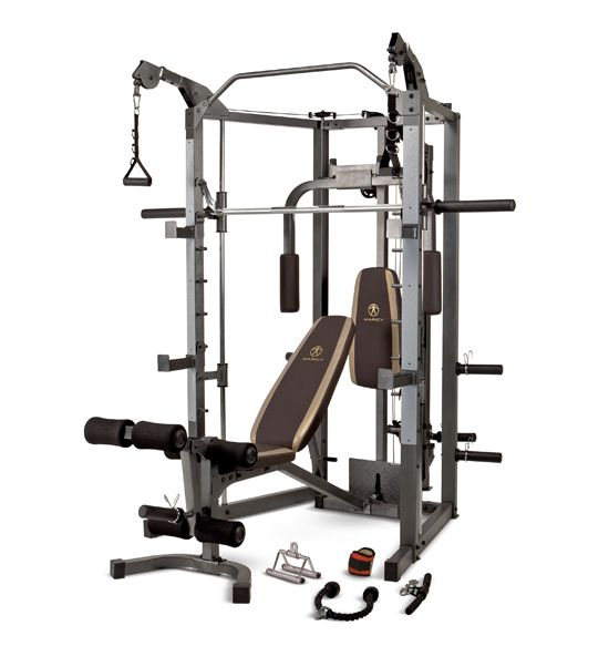 Cannot WAIT for our smith machine to arrive...Its goin down!