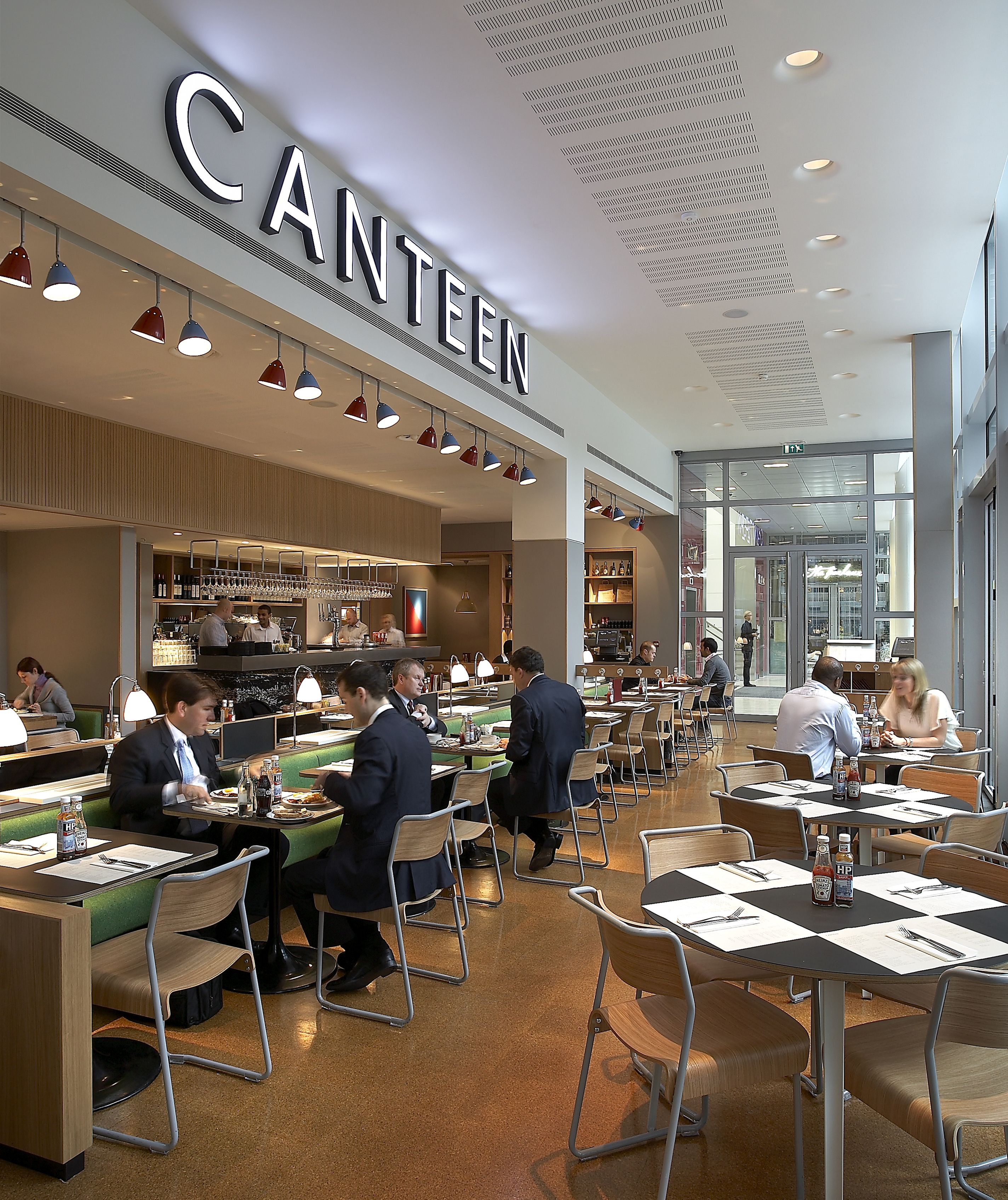 Canteen london by wells mackereth architects restaurant
